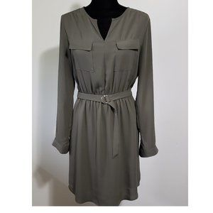 Mossimo Olive Green Military Style Dress